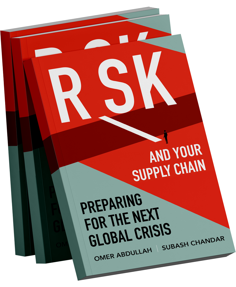 Risk and Your Supply Chain – Buy The Book Today